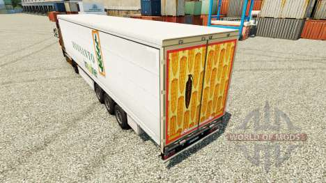 Skin Monsanto imagine on semi for Euro Truck Simulator 2