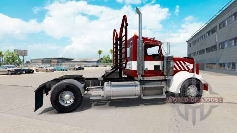 Kenworth W900 Day Cab Heavy Duty for American Truck Simulator