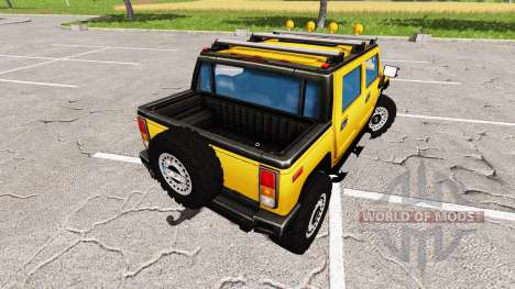 Hummer H2 for Farming Simulator 2017