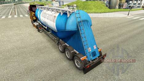 Skin Votorantim cement semi-trailer for Euro Truck Simulator 2