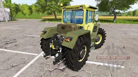 Mercedes-Benz Trac 1800 Intercooler for Farming Simulator 2017