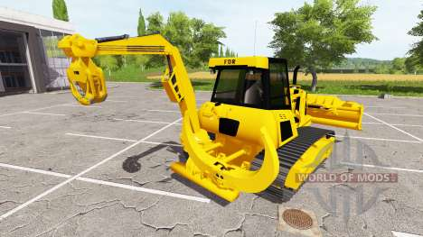 Forestry crawler dozer for Farming Simulator 2017
