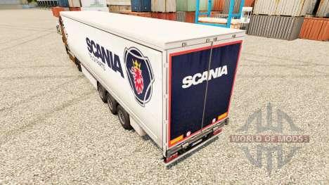 Skin Scania Truck Parts for semi-trailers for Euro Truck Simulator 2