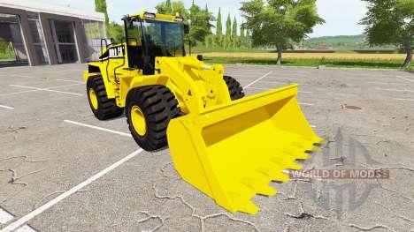 Caterpillar 980H for Farming Simulator 2017