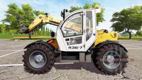 Liebherr TL 436-7 for Farming Simulator 2017