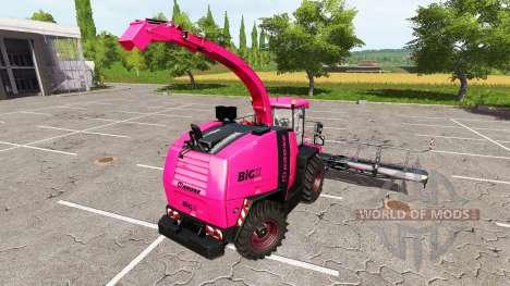 Krone BiG X 1100 pink for Farming Simulator 2017