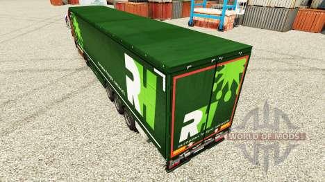 Skin RH for semi-trailers for Euro Truck Simulator 2