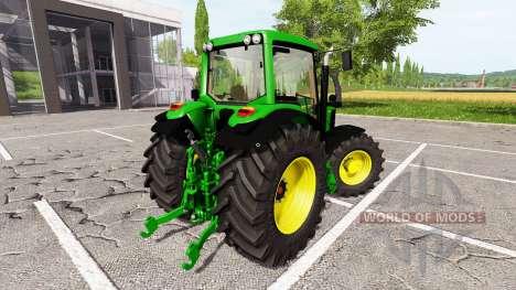 John Deere 7530 Premium v0.1 for Farming Simulator 2017