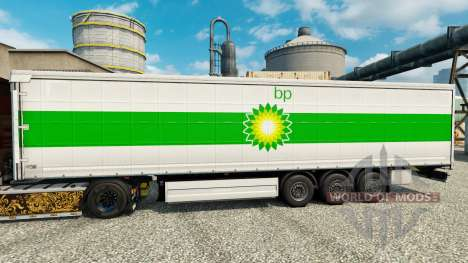 Skin BP on semi for Euro Truck Simulator 2