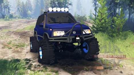Suzuki Grand Vitara v4.0 for Spin Tires