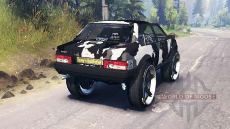 VAZ-21099 camouflage for Spin Tires