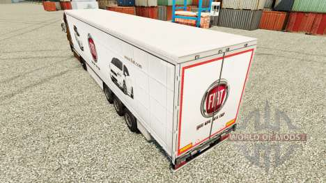 Fiat skin for trailers for Euro Truck Simulator 2