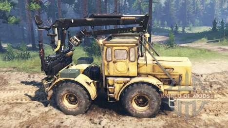 Kirovets K-700 v2.1 for Spin Tires