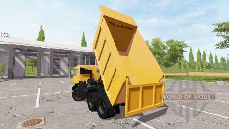 KAMAZ-65115 Euro2 for Farming Simulator 2017