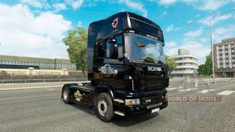 Skin Euro Truck Simulator for truck Scania for Euro Truck Simulator 2