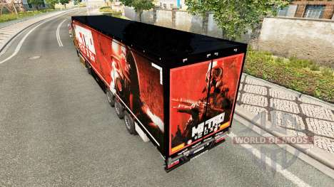 Skin Metro 2033 on semi for Euro Truck Simulator 2