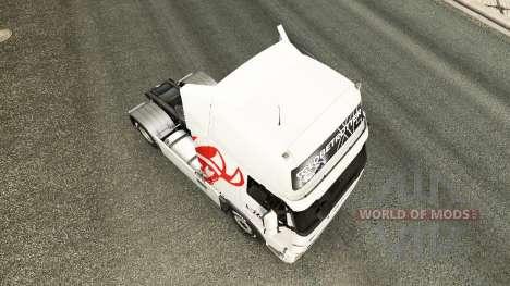Viking Express skin for Volvo truck for Euro Truck Simulator 2