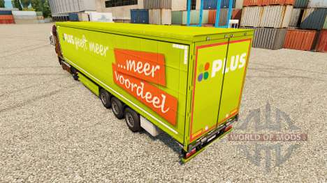 Skin PLUS semi for Euro Truck Simulator 2
