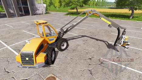Sampo Rosenlew HR46X full cranecontrols v1.1 for Farming Simulator 2017