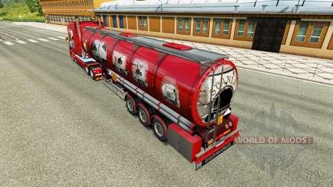 Skin Scania History for chemical semi-trailer for Euro Truck Simulator 2