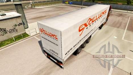 Skin Excellence Encomendas on semi for Euro Truck Simulator 2