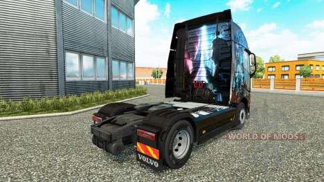 Skin Magic Moments at Volvo trucks for Euro Truck Simulator 2