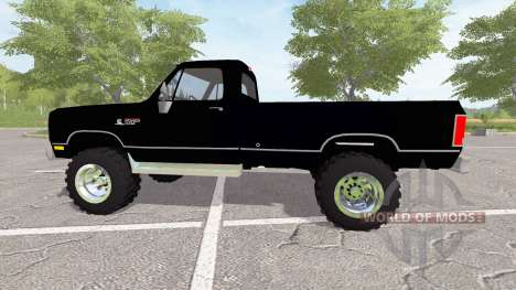 Dodge Power Ram (W150) for Farming Simulator 2017