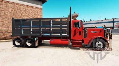 Peterbilt 379 tipper for American Truck Simulator