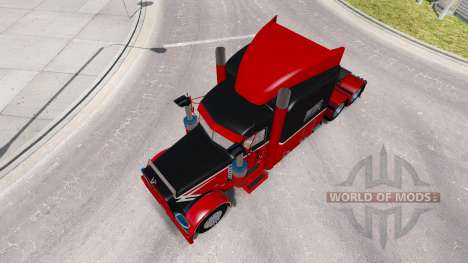 Skin Big & Little for the truck Peterbilt 389 for American Truck Simulator