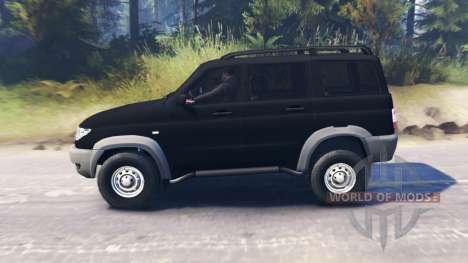 UAZ-3163 Patriot for Spin Tires