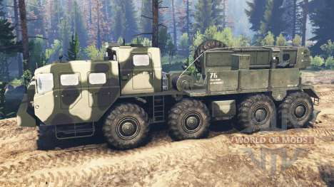 MAZ-543M v3.0 for Spin Tires