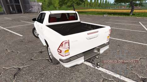 Toyota Hilux Double Cab for Farming Simulator 2017