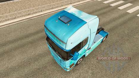Siemens skin for Scania truck for Euro Truck Simulator 2