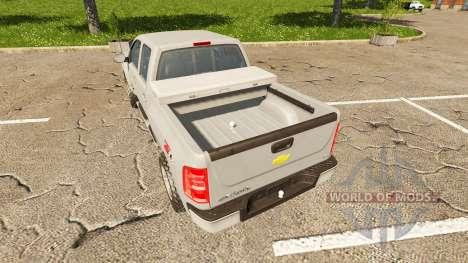 Chevrolet Silverado LT Z71 for Farming Simulator 2017