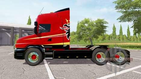 Scania T164 three-axle for Farming Simulator 2017