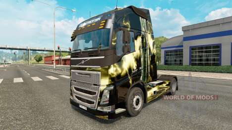 The skin of The deadly storm at Volvo trucks for Euro Truck Simulator 2