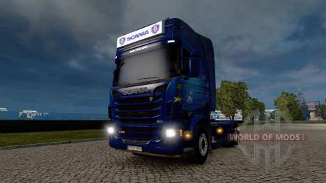 Advertising light box for Scania for Euro Truck Simulator 2