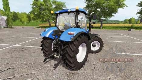 New Holland T6.140 for Farming Simulator 2017