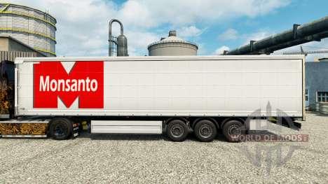 Skin Monsanto Roundup for trailers for Euro Truck Simulator 2