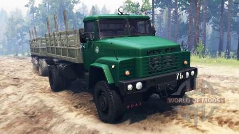 KrAZ-260 4x4 for Spin Tires