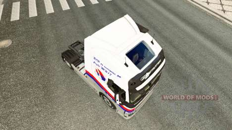 Malasian Airlines skin for Volvo truck for Euro Truck Simulator 2