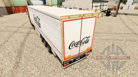 Skin Coca-Cola semi for Euro Truck Simulator 2