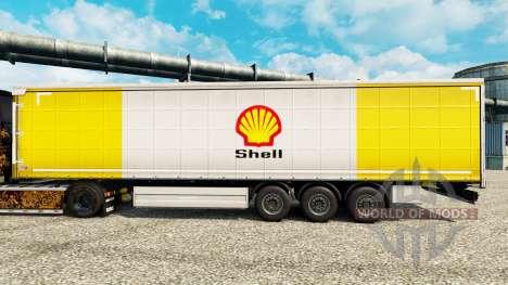 Skin Royal Dutch Shell on semi for Euro Truck Simulator 2