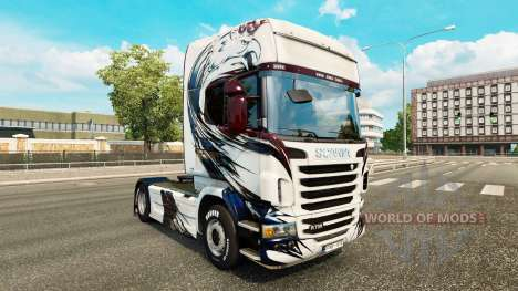 Skin Exclusivo on tractor Scania for Euro Truck Simulator 2