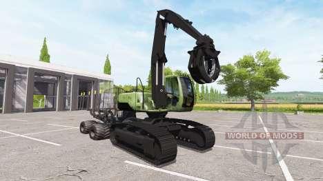 Excavator-forwarder for Farming Simulator 2017