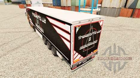 Skin Transporte J. C & Asociados for trailers for Euro Truck Simulator 2
