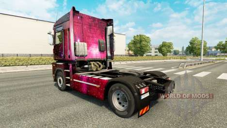 Weltall skin for Renault Magnum truck for Euro Truck Simulator 2