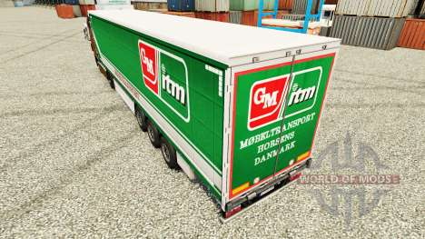 Skin GM itm Mobeltransport for trailers for Euro Truck Simulator 2