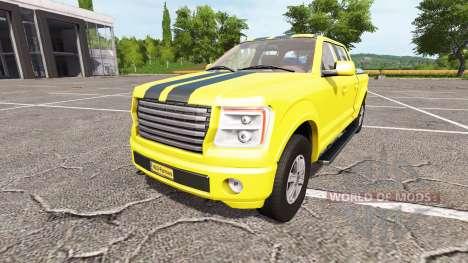 Lizard Pickup TT Service v1.2 for Farming Simulator 2017