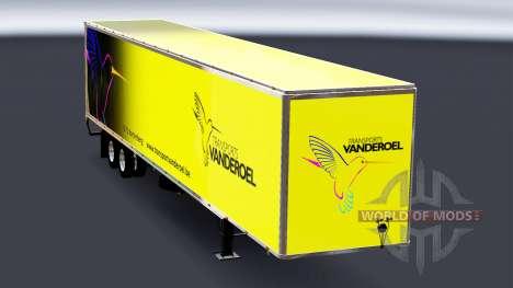 All-metal semi-Vanderoel for American Truck Simulator
